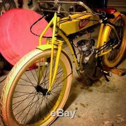1915 cyclone Board track racer replica DIY kit antique vintage motorized cafe