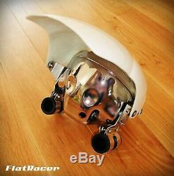 BMW Cafe Racer 7 FlyScreen headlight fairing cowl with acrylic cover KIT