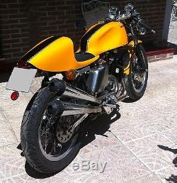 Body kit for Harley or cafe racer. Tank and seat. Fiberglass