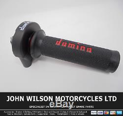 Ducati Monster 796 2010 2014 Domino XM2 Quick Action Throttle Kit Red