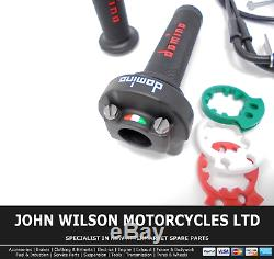 Ducati Streetfighter 848 2012 2014 Domino XM2 Quick Action Throttle Kit Red
