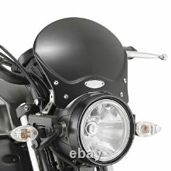 Givi 100ALB Cafe Racer Motorcycle Windshield Screen Black (Requires fitting kit)