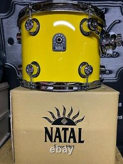 Natal Cafe Racer 22'' 4pc Drum Kit, Shell Pack, Taxi Cab Yellow (One Off)