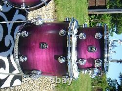 Natal'Cafe Racer' drum kit. Virtually Brand New Stunning condition and colour