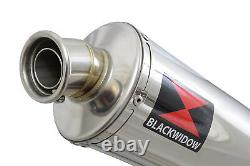 SV 650 2016 2021 Exhaust Silencer 300mm Round Stainless Silencer SN30R