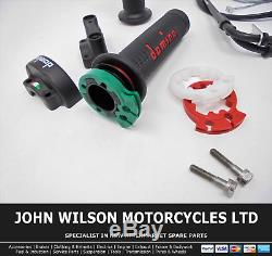 Triumph Daytona 675 2008 Domino XM2 Quick Action Throttle Kit Red