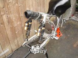 Twin Shock Frame Kit Classic Road Race, Cafe Racer, Scrambler, Special With V5